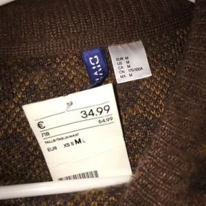 3e6ddf83a35d H&M Sweaters | Never Worn Tags Attached Mens Leopard Hm Sweater ...